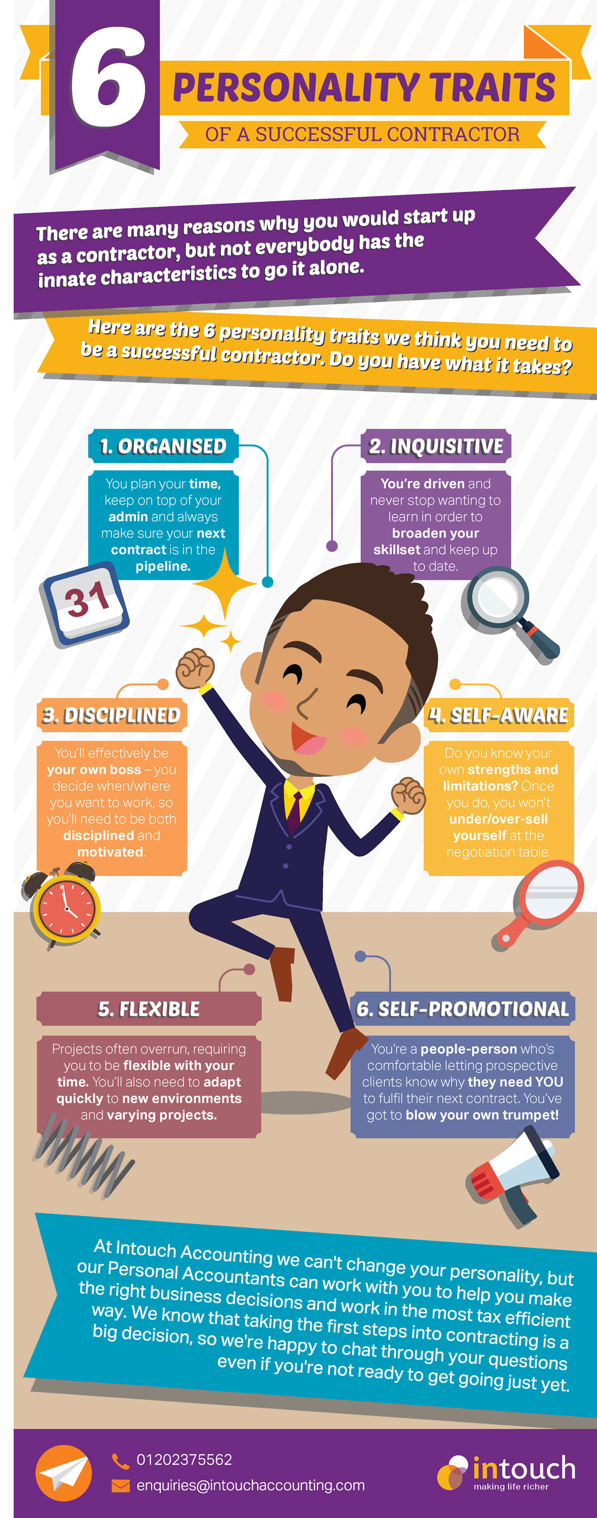 6 Personality Traits of a successful contractor