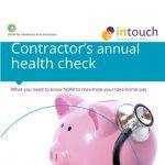 Contractor's annual health check
