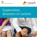 Supervision direction or control